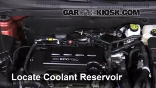 How To Add Coolant Chevrolet Cruze 2011 2014 2013