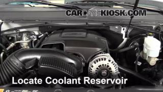 Coolant Level Check: 2007-2013 Suburban 1500