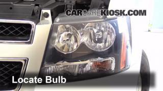 Highbeam (Brights) Change: 2007-2013 Chevrolet Tahoe