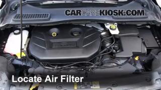 2013-2014 Ford Escape Engine Air Filter Check