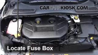 Replace a Fuse: 2013-2014 Ford Escape