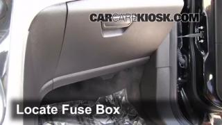 Interior Fuse Box Location: 2013-2014 Ford Escape