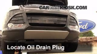 Oil & Filter Change Ford Escape (2013-2014)
