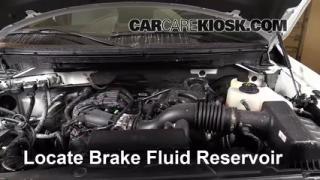 Add Brake Fluid: 2009-2013 Ford F-150