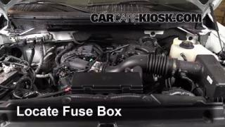 Replace a Fuse: 2009-2014 Ford F-150