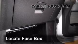 2009-2014 Ford F-150 Interior Fuse Check