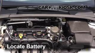 Battery Replacement: 2012-2014 Ford Focus