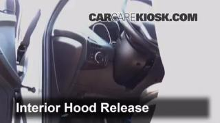 Open Hood How To 2012-2014 Ford Focus