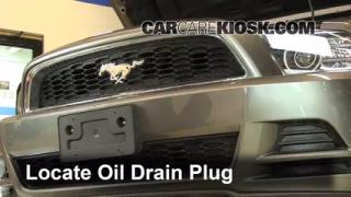 Oil & Filter Change Ford Mustang (2010-2013)