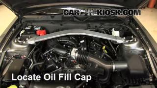 How to Add Oil Ford Mustang (2010-2013)