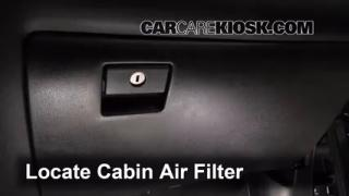 how to change air filter 2014 nissan rogue
