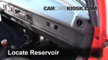 1976 Volkswagen Beetle 1.6L 4 Cyl. Convertible Windshield Washer Fluid