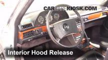 1981 Mercedes-Benz 380SEL 3.8L V8 Sedan (4 Door) Belts