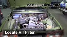 1983 Mercedes-Benz 200D 2.0L 4 Cyl. Diesel Air Filter (Engine)
