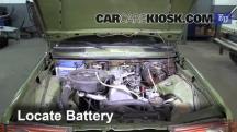 1983 Mercedes-Benz 200D 2.0L 4 Cyl. Diesel Battery