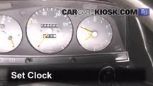 1983 Mercedes-Benz 200D 2.0L 4 Cyl. Diesel Clock
