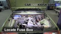 1983 Mercedes-Benz 200D 2.0L 4 Cyl. Diesel Fuse (Engine)