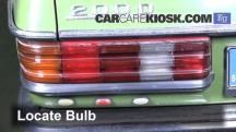 1983 Mercedes-Benz 200D 2.0L 4 Cyl. Diesel Lights