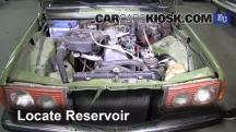 1983 Mercedes-Benz 200D 2.0L 4 Cyl. Diesel Windshield Washer Fluid