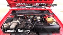 1984 Audi Coupe 2.2L 5 Cyl. Battery