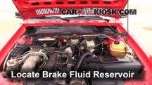 1984 Audi Coupe 2.2L 5 Cyl. Brake Fluid