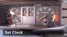 1984 Audi Coupe 2.2L 5 Cyl. Clock