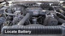 1984 Ford F-250 6.9L V8 Diesel Standard Cab Pickup Battery
