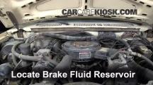 1984 Ford F-250 6.9L V8 Diesel Standard Cab Pickup Brake Fluid