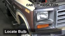1984 Ford F-250 6.9L V8 Diesel Standard Cab Pickup Lights