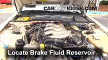1987 Porsche 944 Turbo 2.5L 4 Cyl. Turbo Brake Fluid