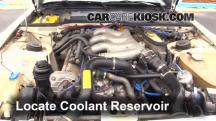 1987 Porsche 944 Turbo 2.5L 4 Cyl. Turbo Coolant (Antifreeze)