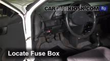 1991 Mazda 323 BG-series 1.3L 4 Cyl. Fusible (interior)