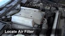 1995 BMW 540i 4.0L V8 Air Filter (Engine)