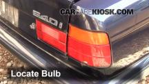 1995 BMW 540i 4.0L V8 Lights