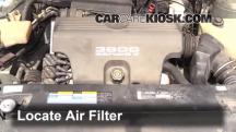1993 Oldsmobile 98 Touring 3.8L V6 Air Filter (Engine)