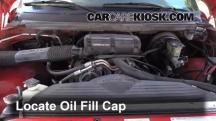 1995 Dodge Ram 1500 5.2L V8 Standard Cab Pickup Oil