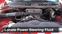 1995 Dodge Ram 1500 5.2L V8 Standard Cab Pickup Power Steering Fluid