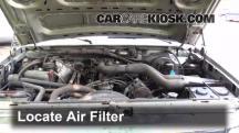 1995 Ford F-250 XL 7.5L V8 Standard Cab Pickup (2 Door) Filtro de aire (motor)