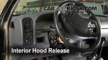 1995 Nissan Pickup XE 3.0L V6 Extended Cab Pickup Belts