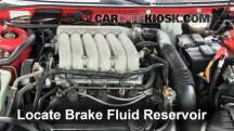 1996 Dodge Avenger ES 2.5L V6 Brake Fluid