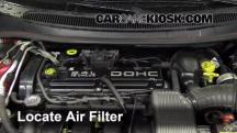 1996 Dodge Stratus ES 2.4L 4 Cyl. Air Filter (Engine)