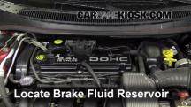 1996 Dodge Stratus ES 2.4L 4 Cyl. Brake Fluid