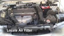1996 Mitsubishi Eclipse RS 2.0L 4 Cyl. Air Filter (Engine)