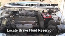 1996 Mitsubishi Eclipse RS 2.0L 4 Cyl. Brake Fluid