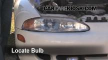 1996 Mitsubishi Eclipse RS 2.0L 4 Cyl. Lights