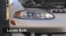 1996 Mitsubishi Eclipse RS 2.0L 4 Cyl. Luces