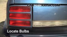 1996 Oldsmobile Cutlass Ciera 3.1L V6 Sedan Luces