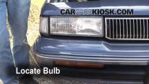 1996 Oldsmobile Cutlass Ciera 3.1L V6 Sedan Luces