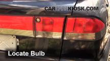 1996 Saab 900 SE Turbo 2.0L 4 Cyl. Turbo Convertible (2 Door) Lights