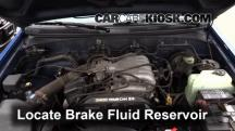 1996 Toyota T100 SR5 3.4L V6 Extended Cab Pickup Brake Fluid